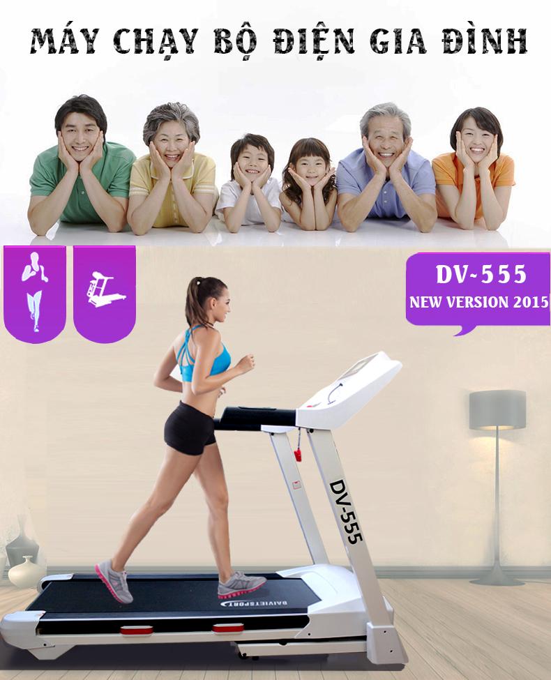 máy chạy bộ đại việt DV 555 mang lại lợi ích gì cho bạn