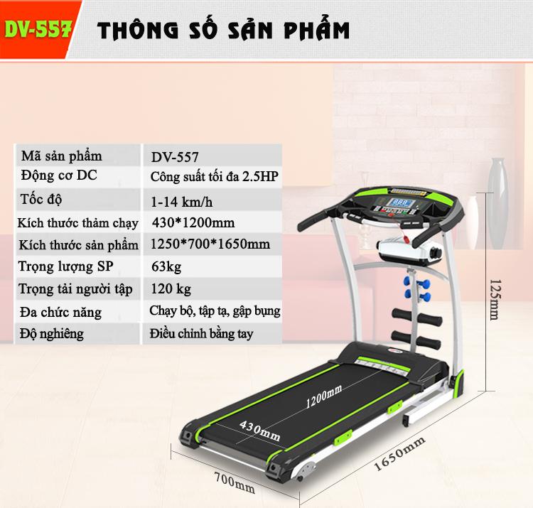 máy chạy bộ điện Đại Việt