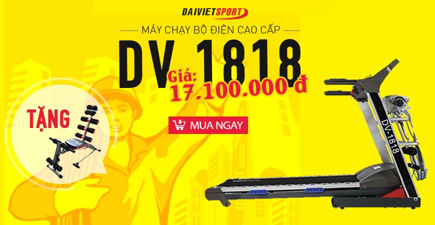 Máy chạy bộ điện Đại Việt DV-1818