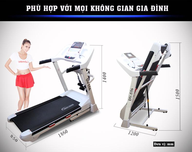 Máy chạy bộ điện Đại Việt DV-556
