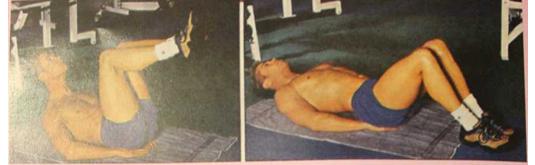 Những động tác tập bụng không cần dụng cụ2