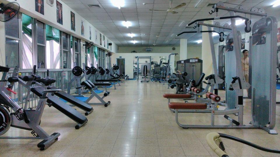 phòng tập gym ở chùa láng uy tín và chất lượng