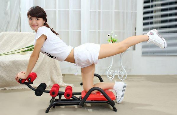 Phương pháp giảm mỡ bụng hiệu quả với chiếc máy tập cơ bụng