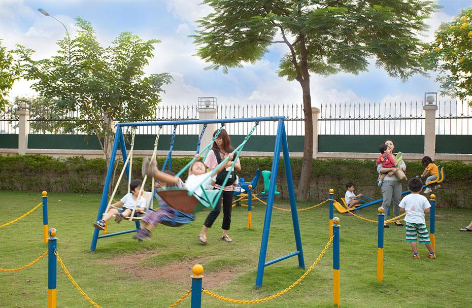 sân chơi ngoài trời Đại Việt nơi giúp trẻ không bị tự kỉ-1