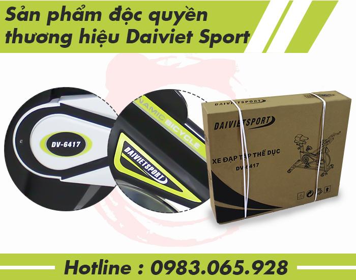 Sản phẩm phân phối độc quyền Daiviet Sport