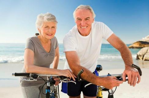 thể dục ngoài trời dành cho người già