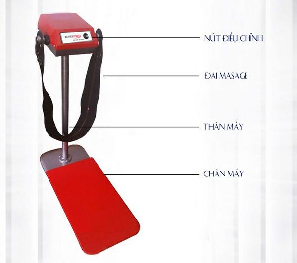 thông tin máy massage đứng Đầu đỏ DV-840