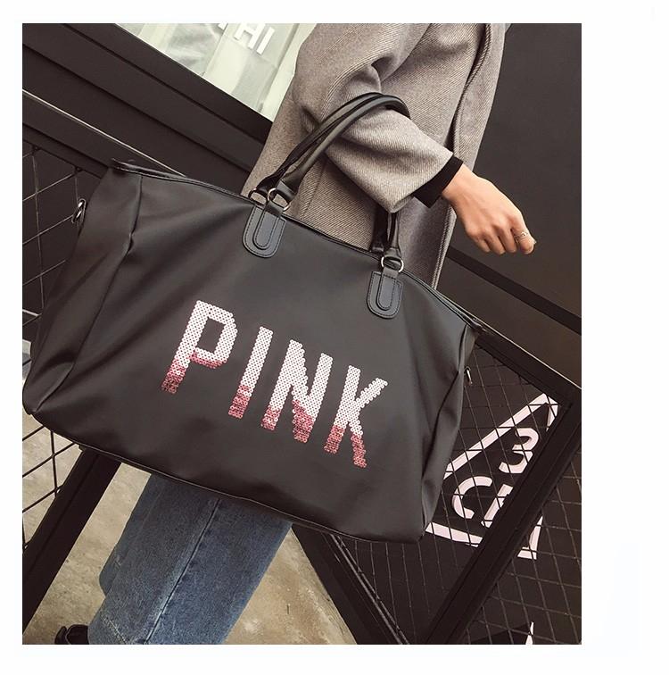 tui xach tap Gym du lich Pink