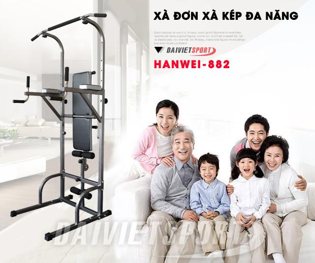 Xà đơn hanwei 882 cho gia đình