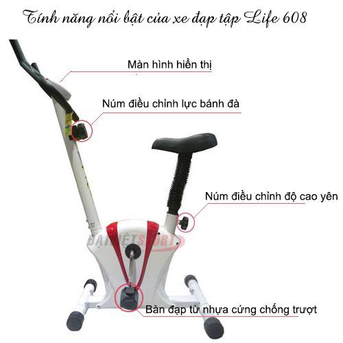 Xe đạp tập Life 608