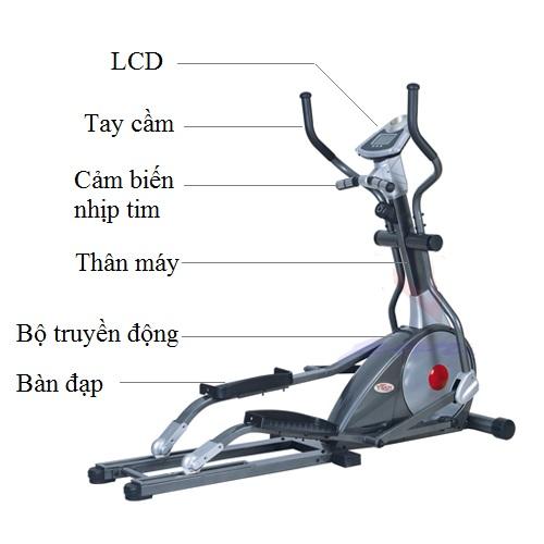 Xe đạp tập thể dục TITAN K8.9BH