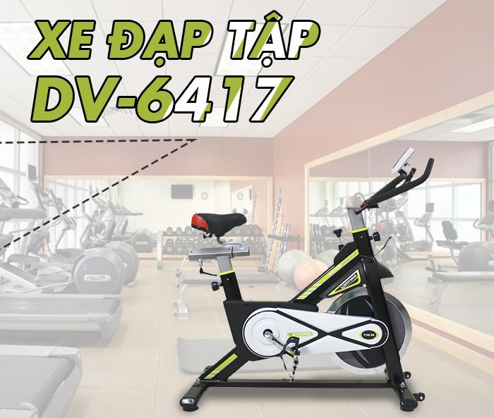Xe đạp tập thể thao DV-6417