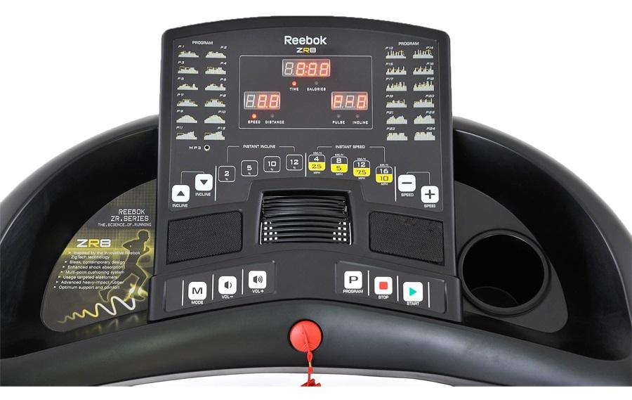 Thể thao Đại Việt chuyên cung cấp Máy chạy bộ điện ZR8 (RE1 11820BK) chính hãng, giá rẻ