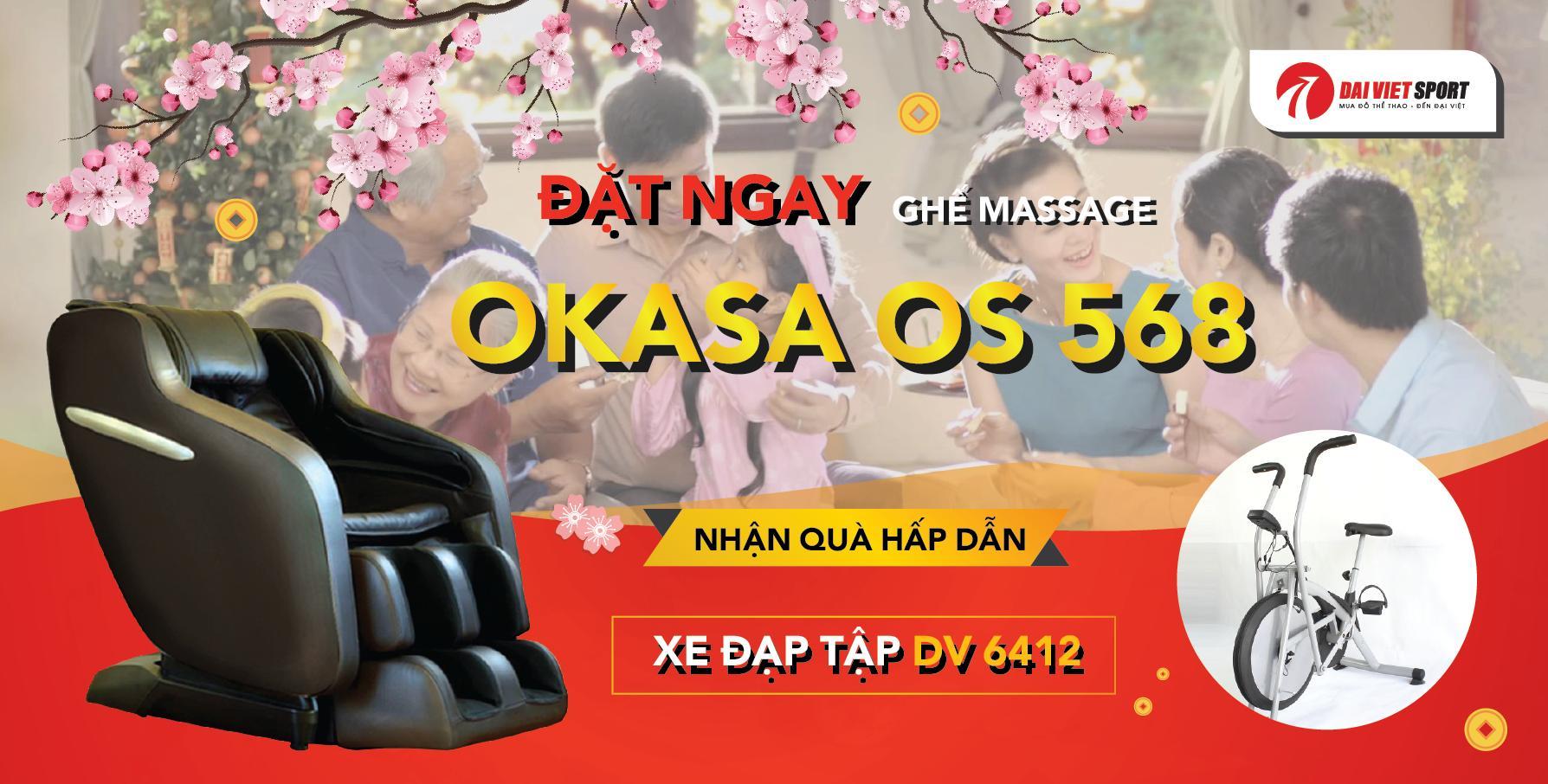 Ghế massag Okasa Os - 568