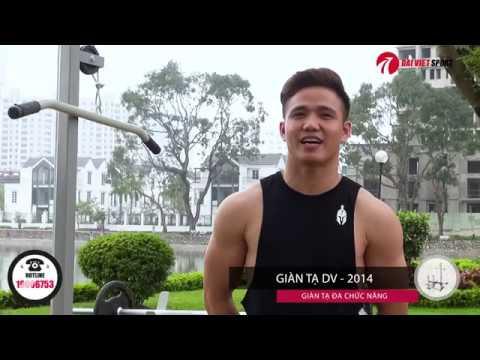 Video Hướng Dẫn Sử Dụng Giàn Tạ Đại Việt