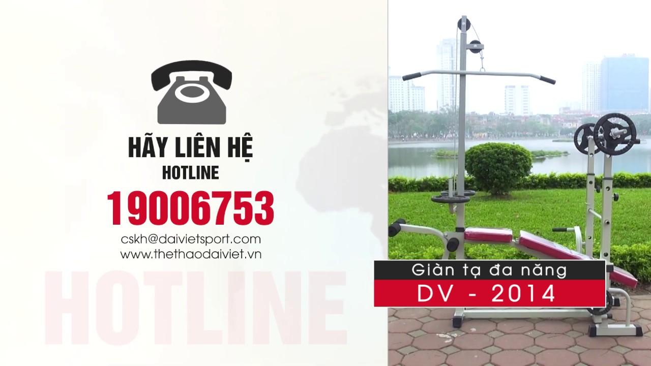 Video Hướng Dẫn Lắp Đặt Giàn Tạ Đại Việt