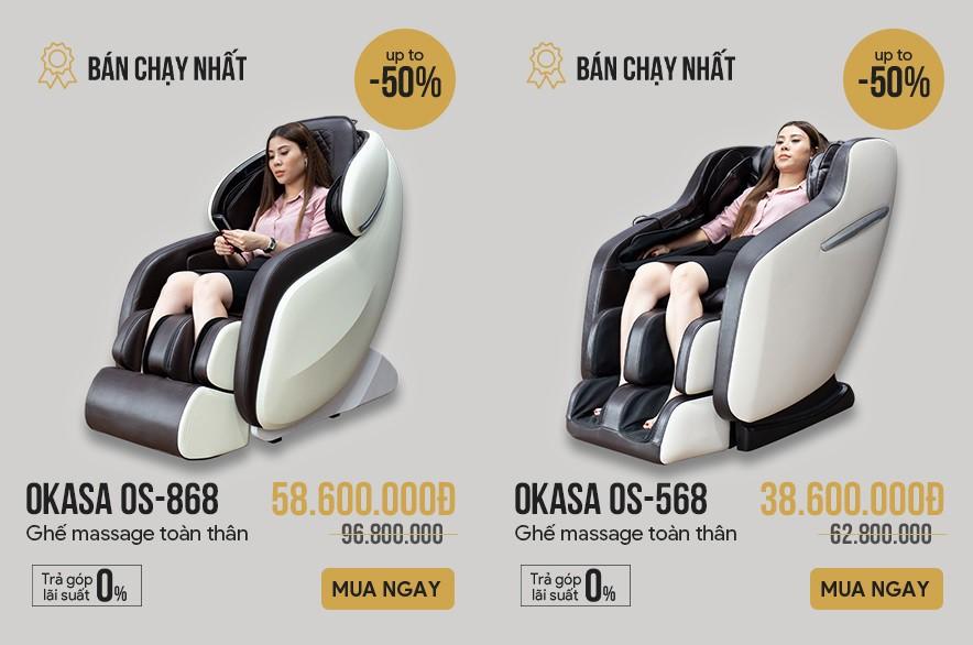 Những mẫu ghế massage dưới 50 triệu